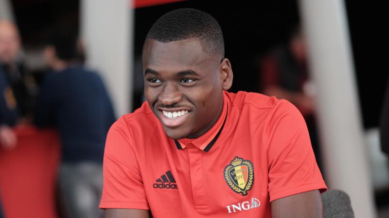 Anderlecht verwelkomt Landry Dimata op training