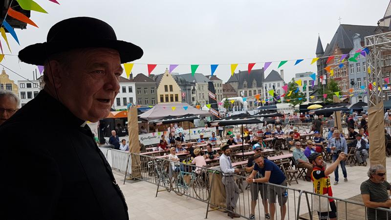 Fête internationale du cyclisme au Tour des Flandres Retro