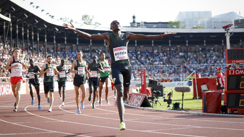 Rotich gets first win of Diamond League season in Stockholm