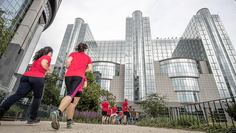Meer dan 3000 starters op DH Brussels Urban Trail