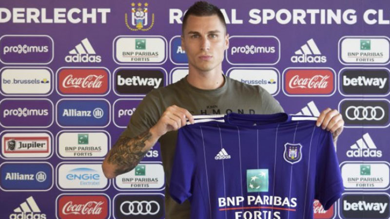 Anderlecht engage l'international bosnien Vranjes