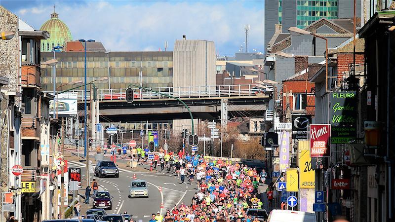 Recordaantal deelnemers voor 10 miles de Charleroi