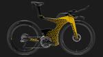 Lamborghini en Pirelli staan met fietsen op autobeurs Genève