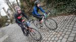 Bibberen en beven voor 'flandriens' tijdens Dwars door Vlaanderen Cyclo