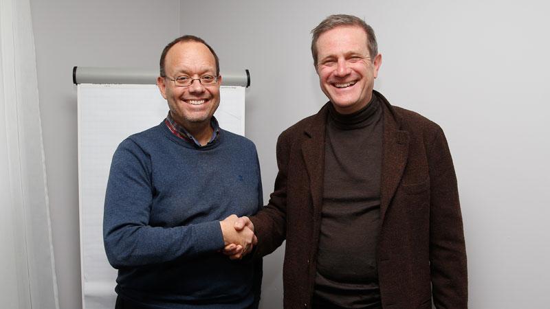 Dominique Delhalle, nieuwe voorzitter van Sportspress.be