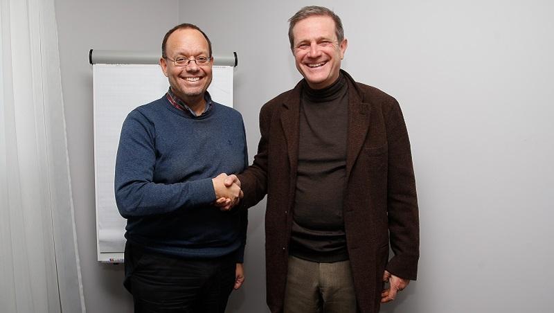 Dominique Delhalle, nouveau président de Sportspress.be