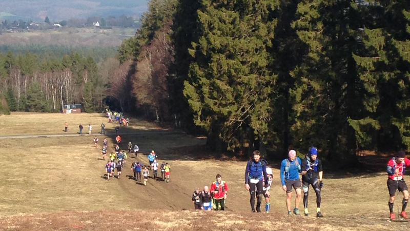 Stralende kick-off voor Lampiris Nature Trail Series