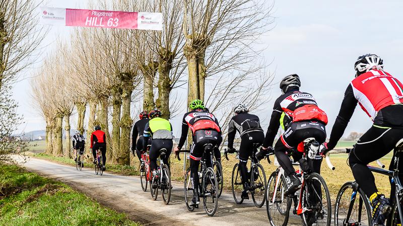 5000 deelnemers genieten van zonovergoten Gent-Wevelgem Cyclo