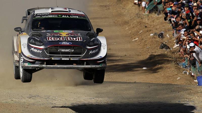 Daniel Sordo prend les commandes, Thierry Neuville huitième — WRC Mexique