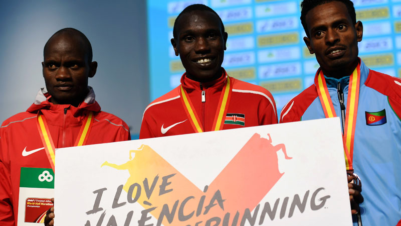 Cheroben finishes 2nd at the World Half Marathon Championships
