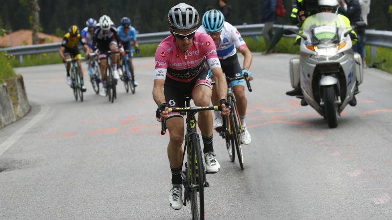 Yates neemt stevige optie op eindzege Giro