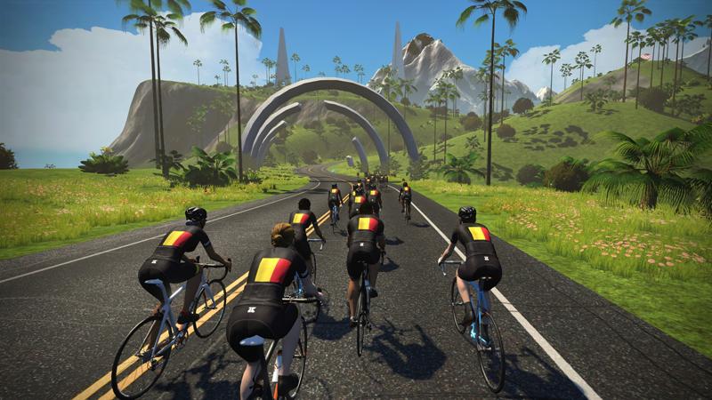 Baloise Belgium Tour scoort op Zwift!