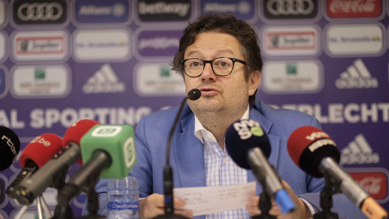 Herman Van Holsbeeck réclame 1,8 million d'euros à Marc Coucke — Anderlecht