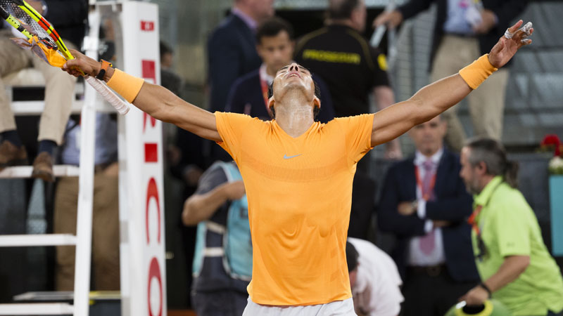 Nadal écarte Schwartzman — Madrid