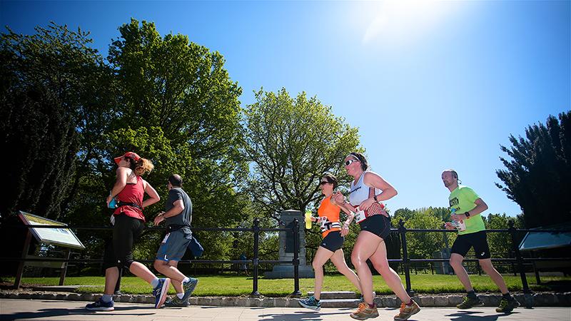 Courir par de fortes chaleurs: le conseil du coach