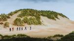Gloednieuw event: tocht van 80 km aan de Belgische kust