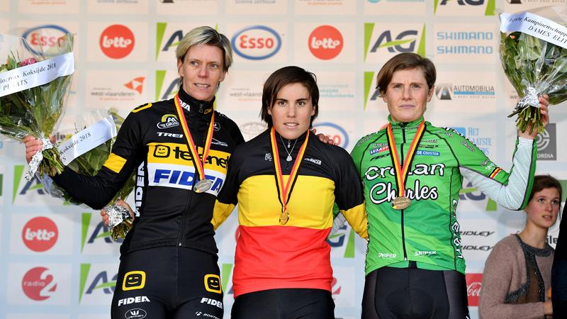 Vrouwen strijden op zaterdag om Belgische titel