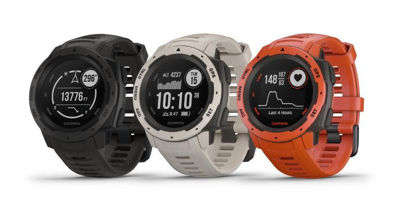 GPS-horloge voor avontuurlijke lopers