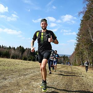Schema Heuvelachtige halve marathon