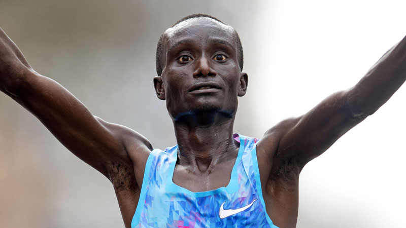 Kipkemoi's continues successful switch to marathon distance with fourth place in Chicago