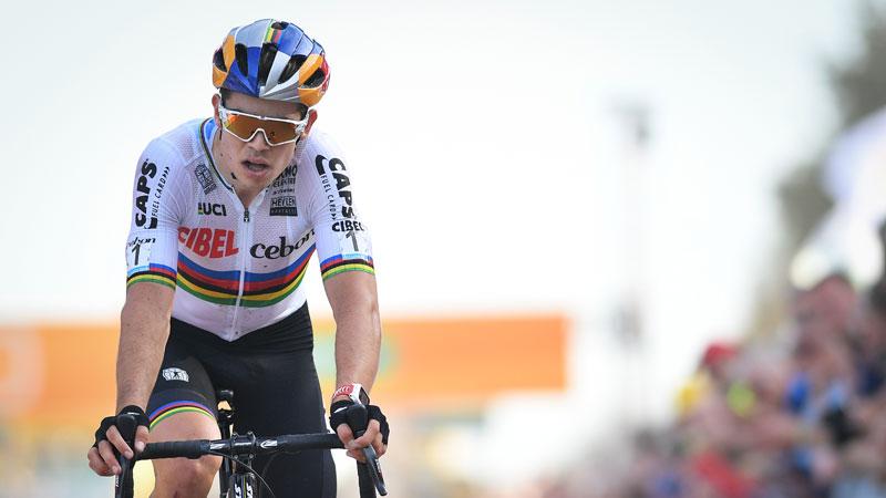 Van Aert vise une première victoire ce jeudi