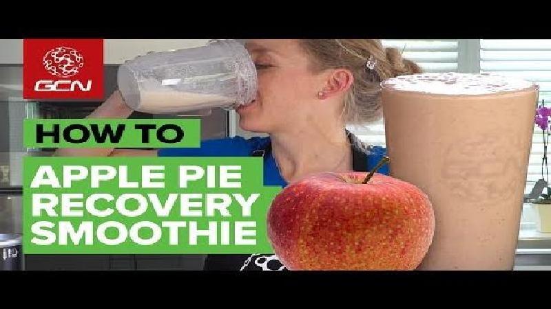 Drink na je training deze smoothie die smaakt naar appeltaart