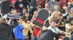 Wedstrijd in Charleroi onderbroken na rellen met Israëlische supporters