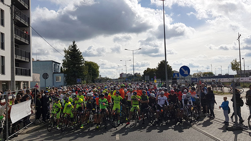 More than 6000 riders at Poznan Bike Challenge