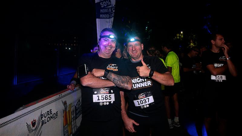 Muzikale Runners' Lab Night Run zorgt voor gezelligheid in Rivierenhof
