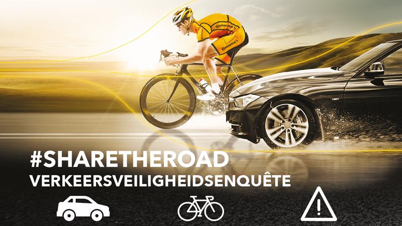 #ShareTheRoad-verkeersveiligheidsenquête: weginfrastructuur zorgt voor meeste onvrede