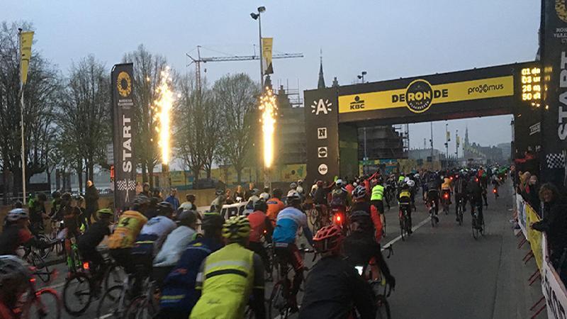 16.000 Flandriens sur la route