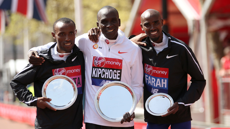 London Marathon lanceert minidocumentaire over wereldrecordhouder Kipchoge