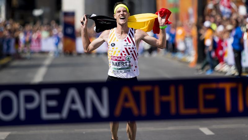 Naert vise son record au marathon de Rotterdam