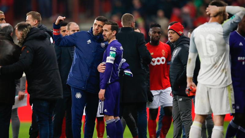 Bondsparket eist match achter gesloten deuren en 5.000 euro boete voor Anderlecht