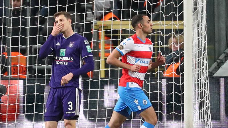 Anderlecht beboet voor incidenten tegen Club Brugge