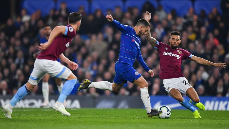But d'anthologie d'Eden Hazard contre West Ham (VIDEO)
