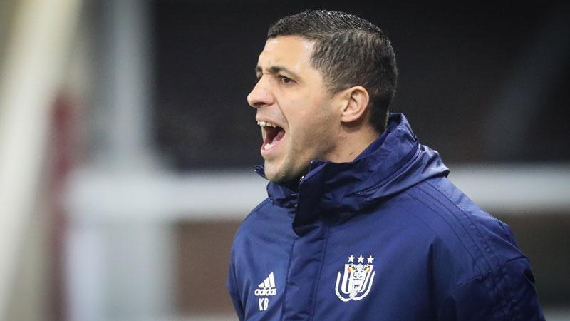 Belhocine hoofdcoach van Anderlecht