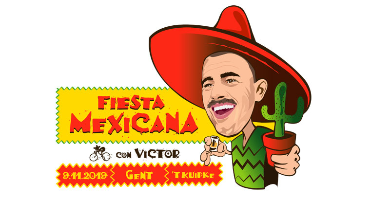 Fiesta Mexicana con Victor au Kuipke à Gand!