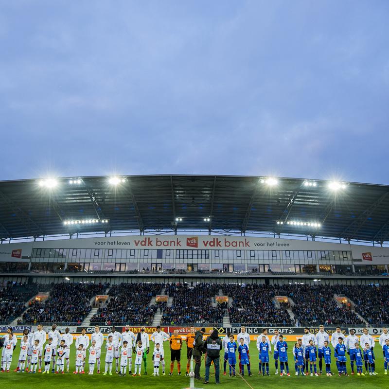 Nombre de spectateurs en Jupiler Pro League Play-Offs  4e journée