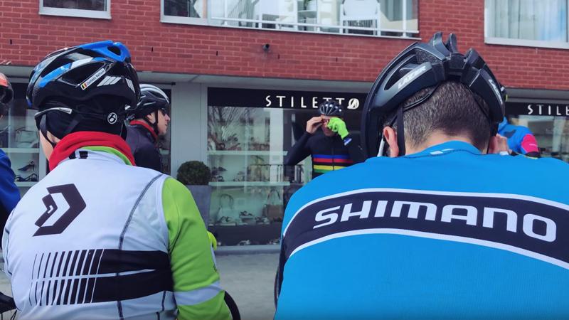 In het wiel van Shimano en Johan Museeuw in het hart van de Ronde (VIDEO)