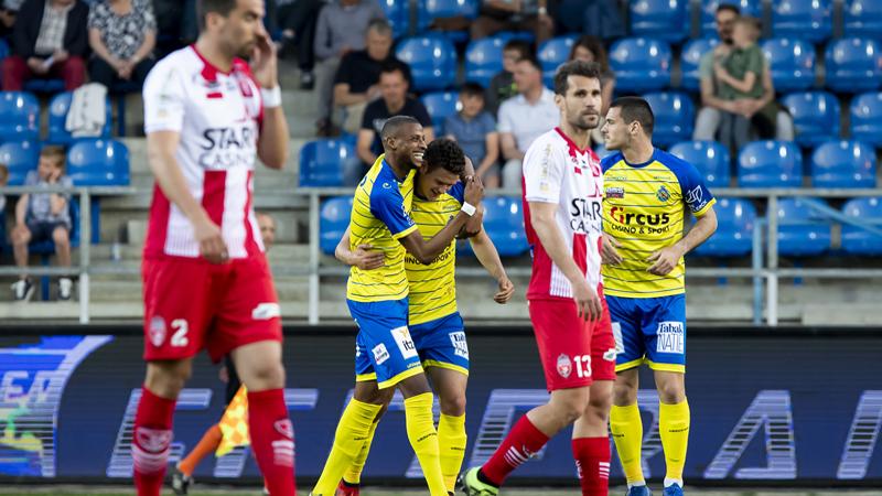 Waasland-Beveren renoue avec la victoire, Mouscron pas