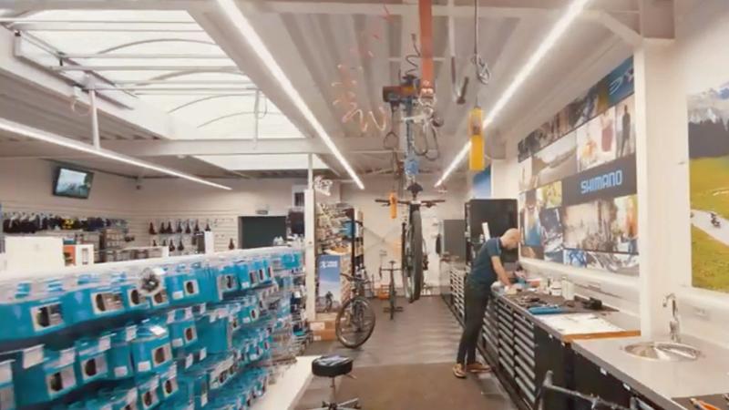 X-TREME BIKE: Volledig vernieuwd Shimano Service Center