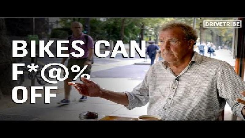 Clarkson: 'Fietsen slecht voor milieu omwille van... avocado's'