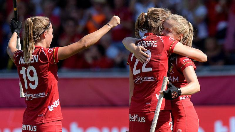 Belgium secure place at top table with 3-1 win over Belarus