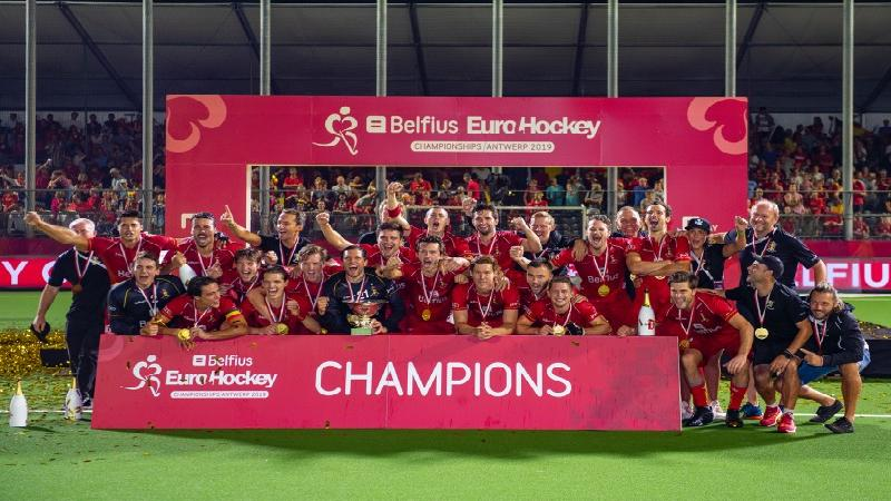 Swingende Red Lions veroveren eerste Europese titel