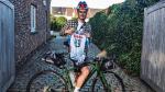 Apers eert overleden vriend Bjorg Lambrecht met fietstrip naar Parijs