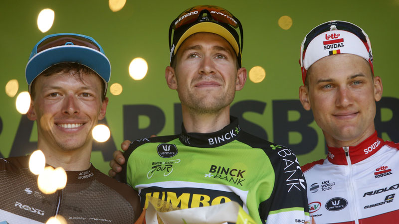 De Plus can 'barely believe' overall win after final stage coup