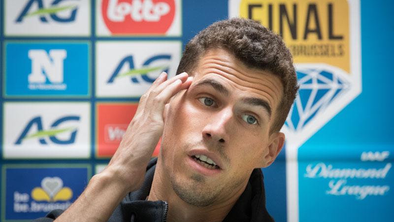 WK lijkt heel veraf voor Jonathan Borlée
