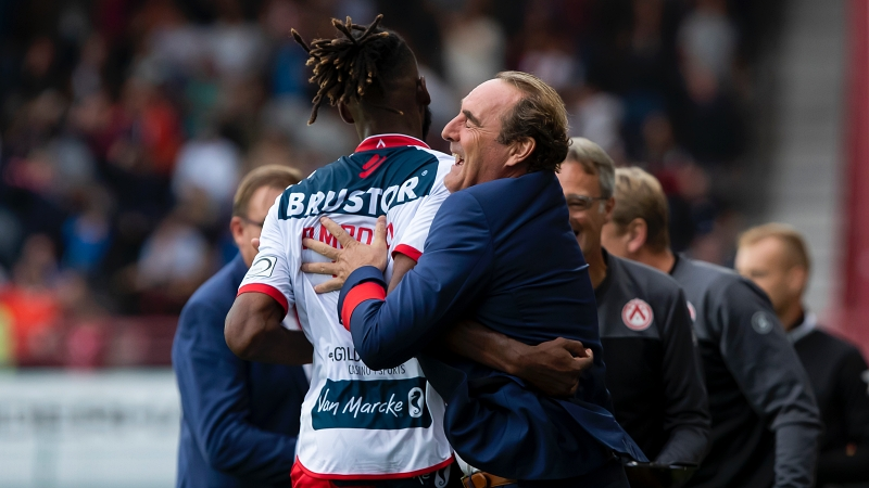 KV Kortrijk klopt Anderlecht na dolle tweede helft