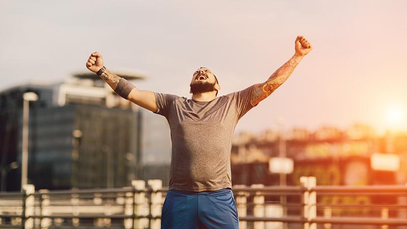 Bewezen: sporten maakt gelukkiger dan geld